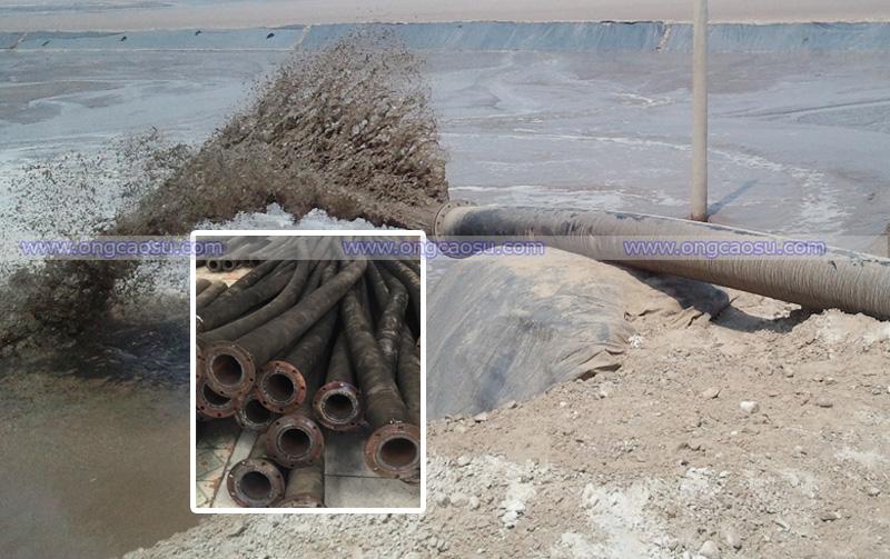 Ống cao su hút cát